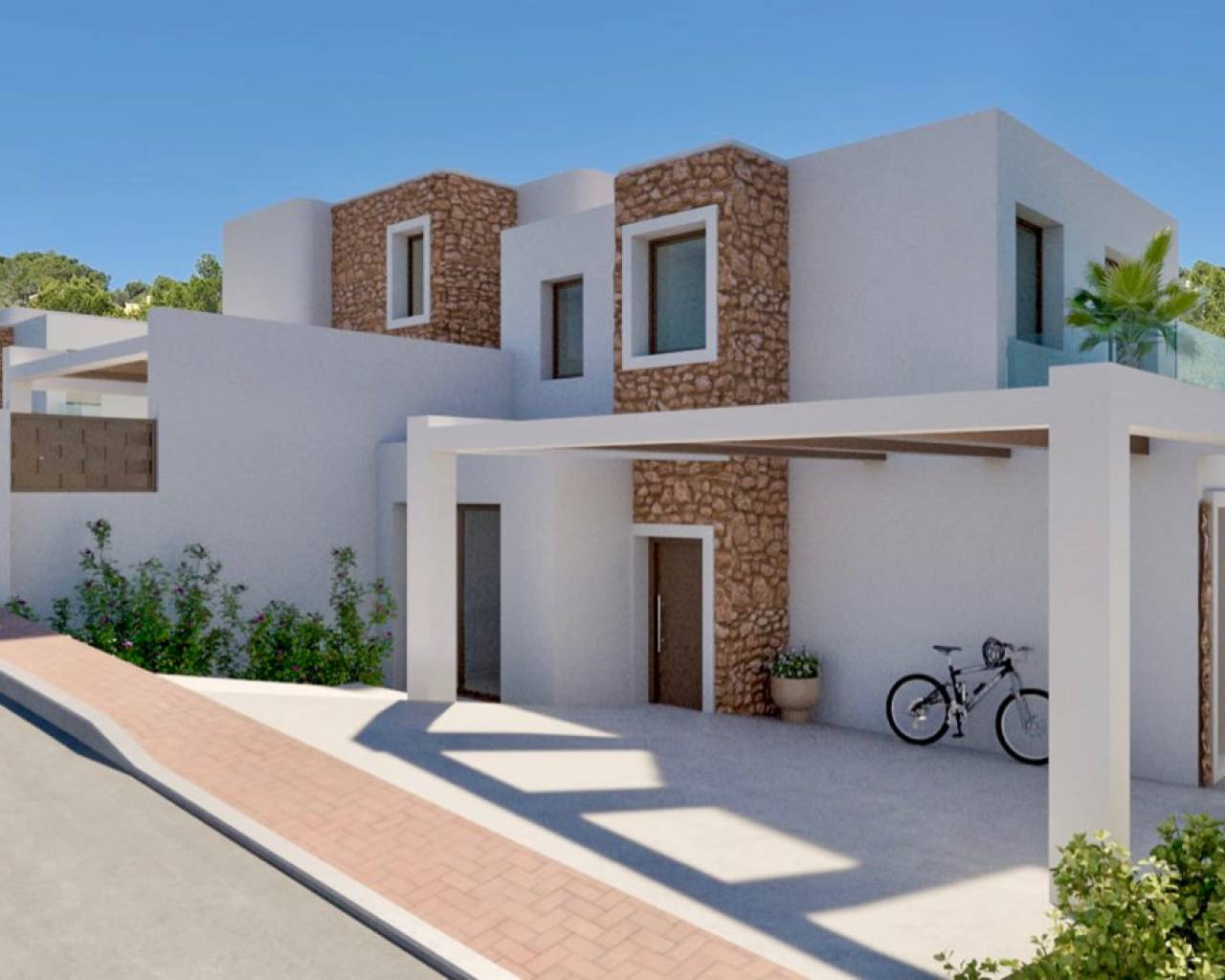New Build - Townhouse / Terraced House - Moraira - Paichi
