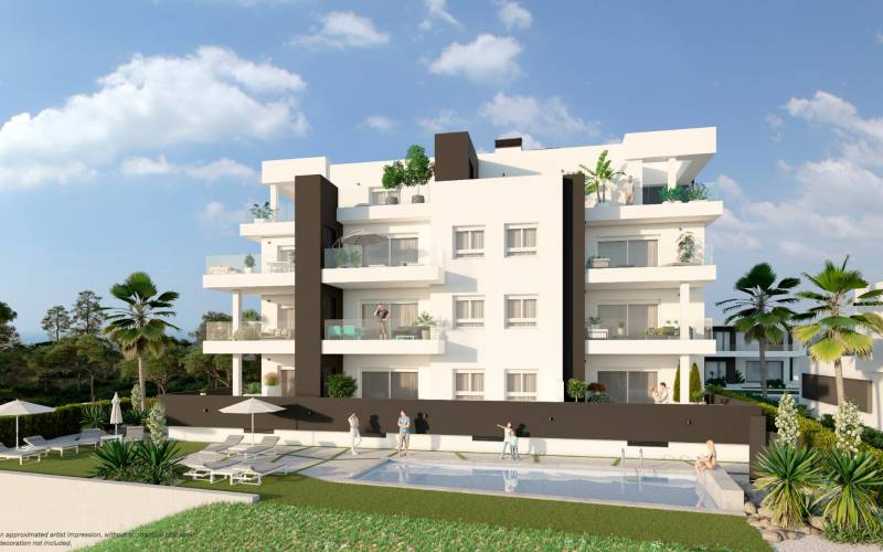 Appartement - New Build - Orihuela Costa - Villamartin