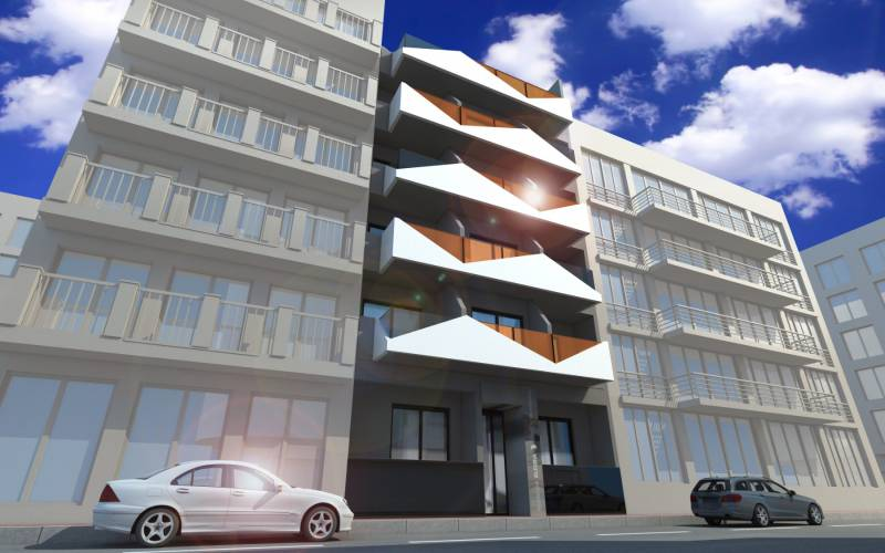 Appartement - New Build - Torrevieja  - Playa del Cura