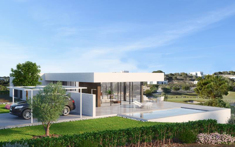 Villa - Nybyggnad - Orihuela Costa - Las Colinas golf & country resort