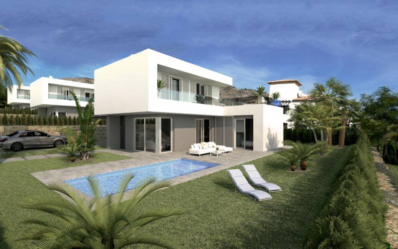 Villa - New Build - Finestrat  - Sierra Cortina