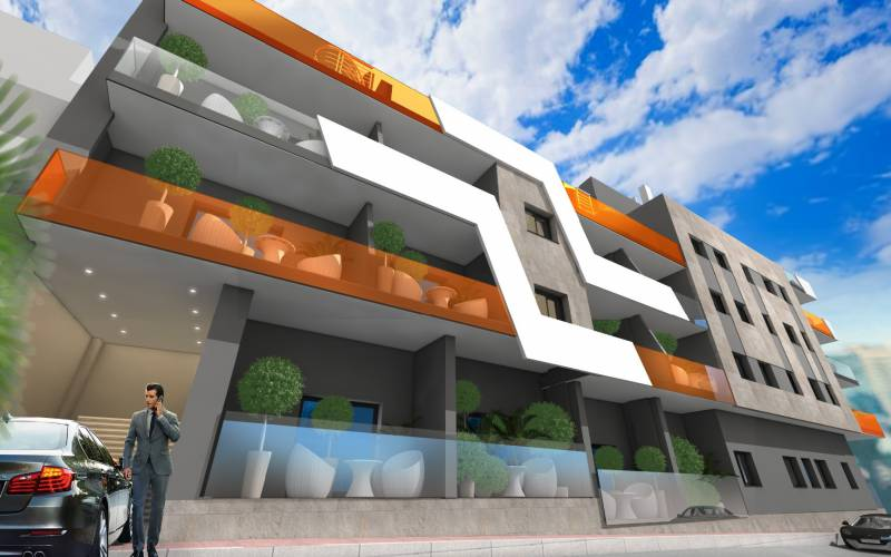 Apartment - New Build - Torrevieja  - Torrevieja City