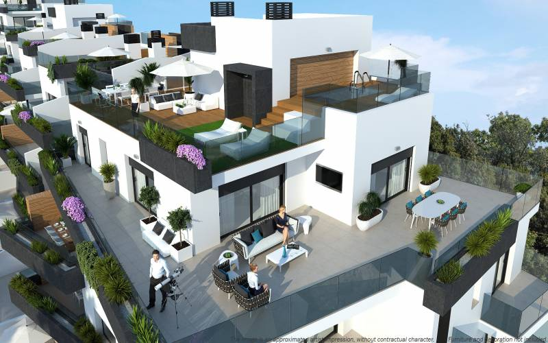 Penthouse - New Build - Orihuela-Costa - Los Dolses