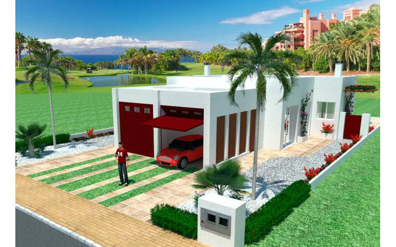 Villa / Half vrijstaand - New Build - Los Alcazares - Serena Golf