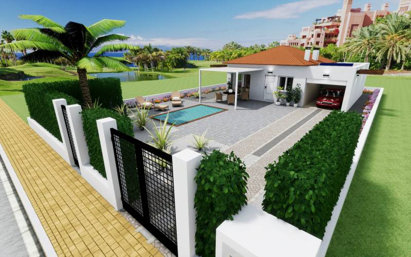 Вилла - New Build - Los Alcazares - Serena Golf