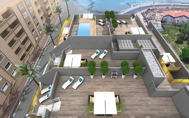 Penthouse - New Build - Torrevieja - Playa Los Locos