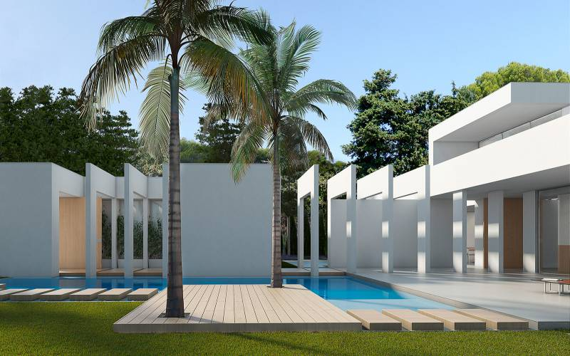 Villa - New Build - Orihuela-Costa - Villamartin