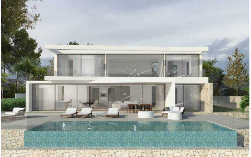 Villa - New Build - Moraira - Moraira