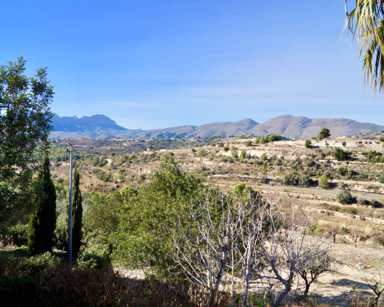 Sale - Country House / Finca - Benissa - Partida Llenes