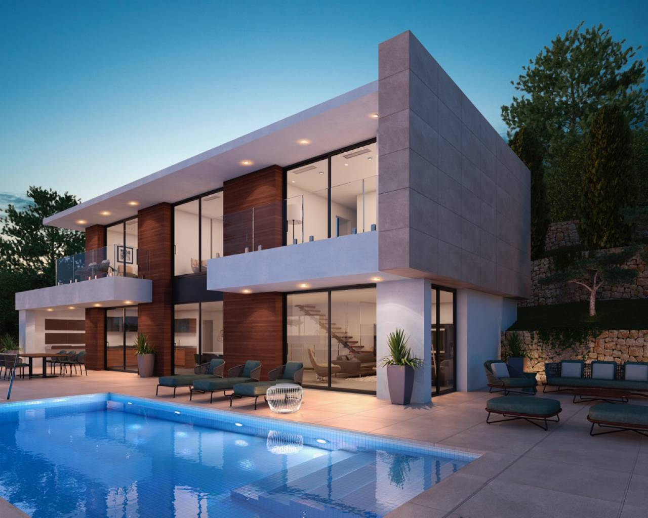 New Build - Villa - Benissa - Montemar