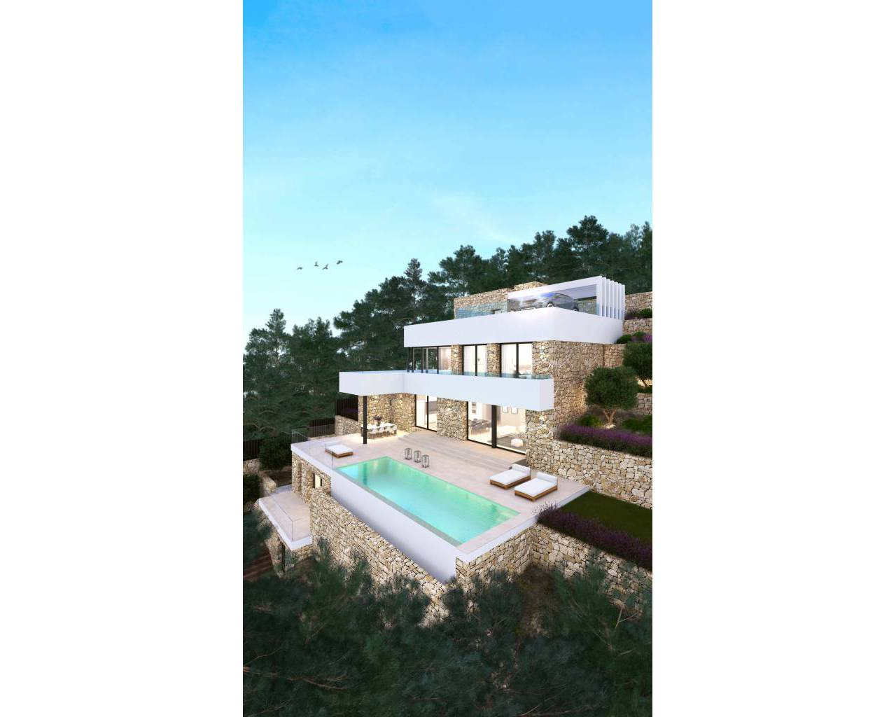 New Build - Villa - Moraira - Alcasar